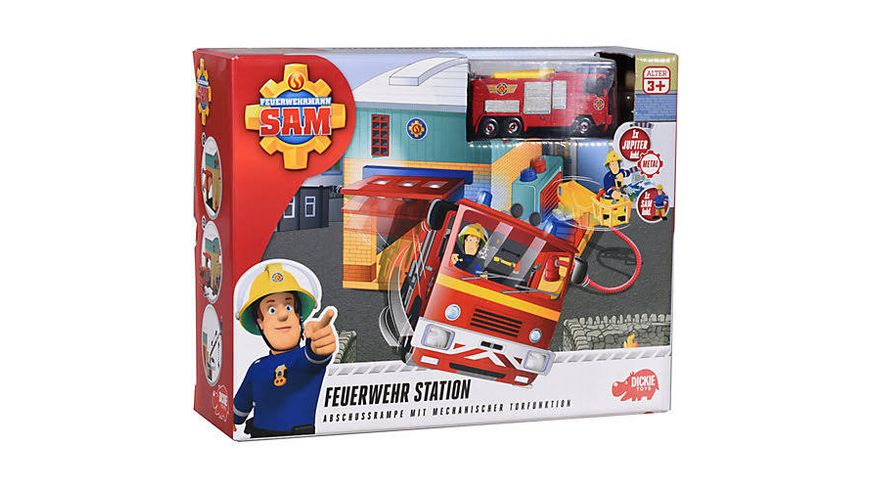 Dickie Toys Feuerwehrmann Sam Station