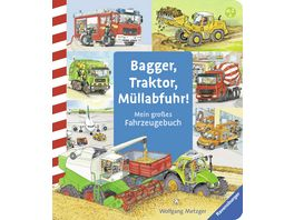 Ravensburger Bagger Traktor Muellabfuhr