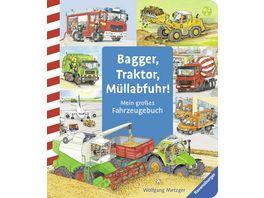 Ravensburger Buch Bagger Traktor Muellabfuhr