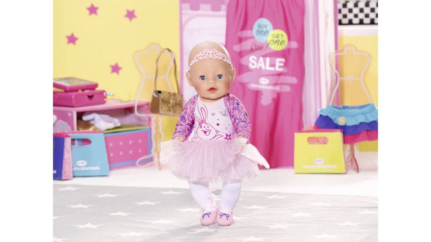 Zapf Creation Baby born Boutique Deluxe Ballerina 43cm