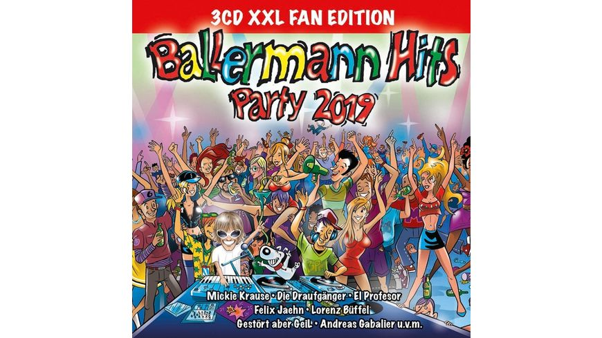 Ballermann Hits Party 2019 Xxl Fan Edition Online Bestellen Muller