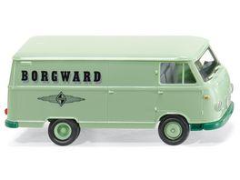 Wiking 0270 49 Borgward Kastenwagen weissgruen