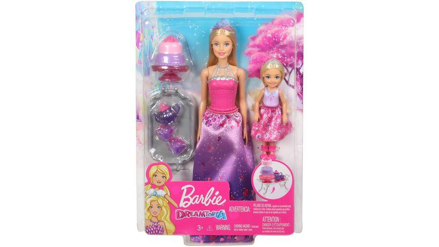 Mattel Barbie Puppe mit Chelsea und Zubehoer