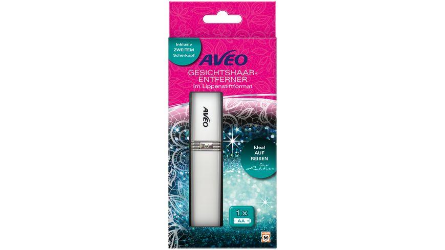 AVEO Gesichtshaarentferner im Lippenstiftformat