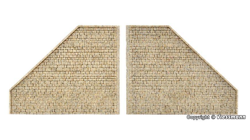 VOLLMER 48101 - H0 Stützwand, passend zu 48100, 2 Stück