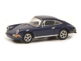 Schuco Edition 1 87 Porsche 911S Coupe blau