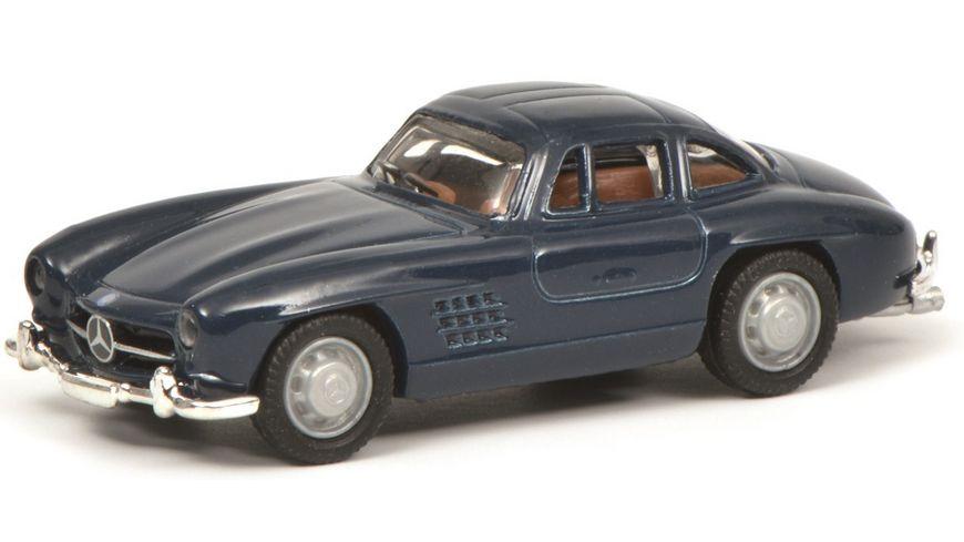 Schuco Edition 1 87 Mercedes Benz 300 SL blau
