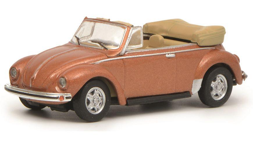 Schuco Edition 1 87 VW Kaefer Cabrio kupfer