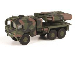 Schuco Military 1 87 MAN 7t gl KAT1 Raketenwerfer Lars II Bundeswehr