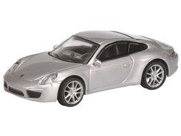 Schuco Edition 1 87 Porsche 911 991 Carrera S Coupe silber
