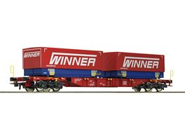 Roco 76621 Containertragwagen DB AG