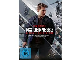 Mission Impossible 6 Movie Collection 6 DVDs