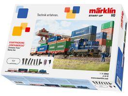 Maerklin Start up Containerzug 230 Volt