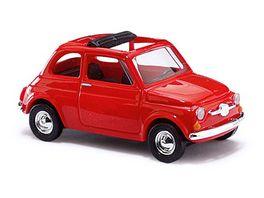 BUSCH 48720 Fiat 500 Rot 1 87
