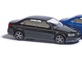 BUSCH 89132 Audi A4 schwarz 1 87