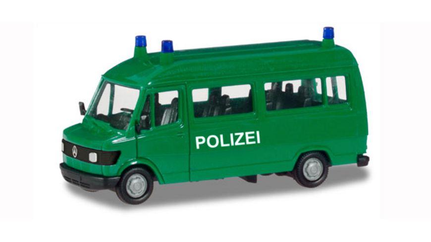 Herpa 094139 Mercedes Benz T1 Bus Polizei