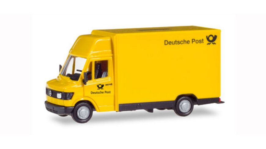 Herpa 094207 Mercedes Benz 207D Koegel Deutsche Post