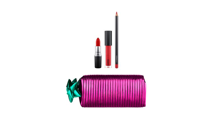 MAC Shiny Pretty Things Goody Bag Red Lips