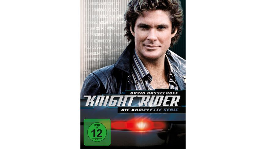 Knight Rider Gesamtbox 26 DVDs