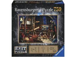 Ravensburger Puzzle EXIT Sternwarte 759 Teile