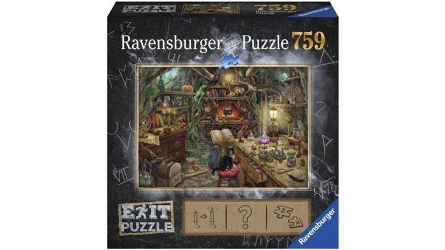 Ravensburger Puzzle EXIT Hexenkueche 759 Teile