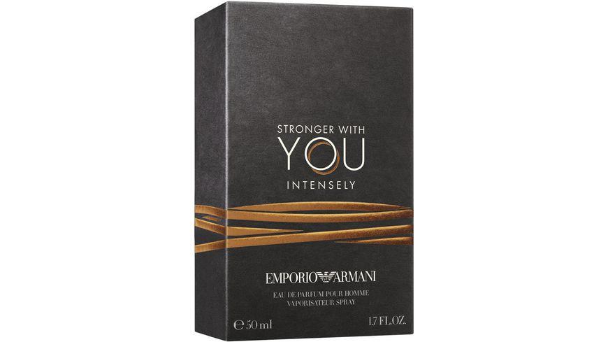 EMPORIO ARMANI Stronger With You Intense Eau de Parfum