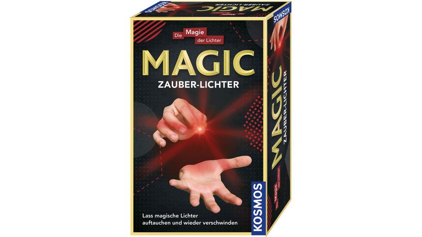 KOSMOS Experimentierkaesten MAGIC Zauberlichter