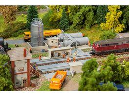 Faller 222212 N Oellager mit Dieseltankstelle