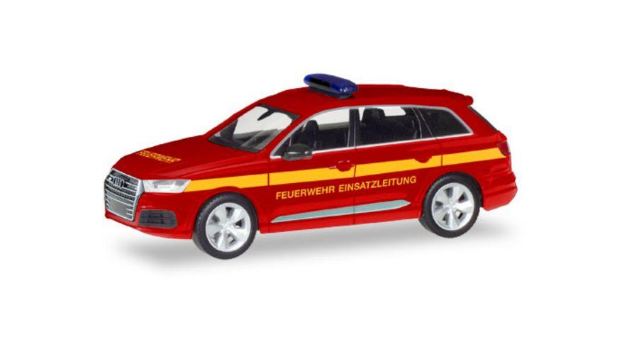 Herpa 93965 Audi Q7 Feuerwehr Einsatzleitung