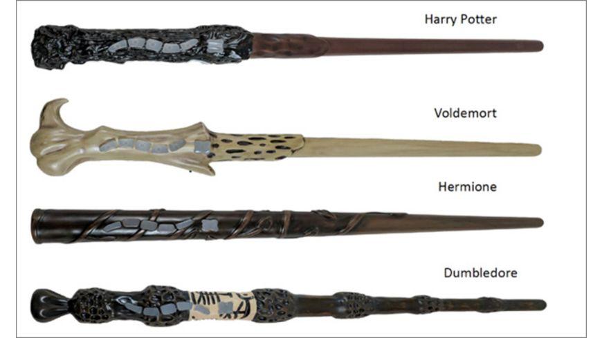 Jakks Pacific Harry Potter Magische Zauberstaebe mit Funktion sortiert