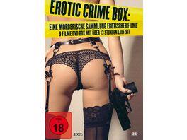 Erotic Crime Box Eine moerderische Sammlung erotischer Filme 3 DVDs