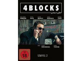 4 Blocks Die komplette zweite Staffel 3 DVDs