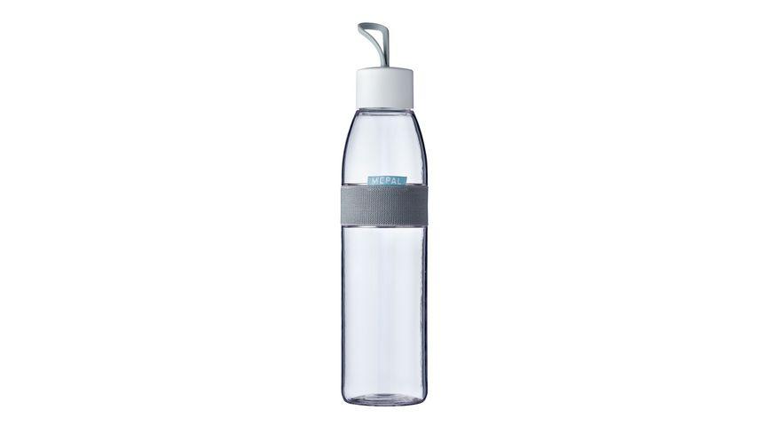MEPAL Ellipse Wasserflasche 0 7l weiss