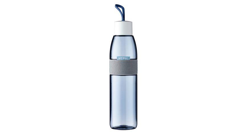 MEPAL Ellipse Wasserflasche 0 7l nordic denim