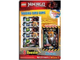 Blue Ocean LEGO Ninjago Multi Pack Nr 2 mit XXL Karte