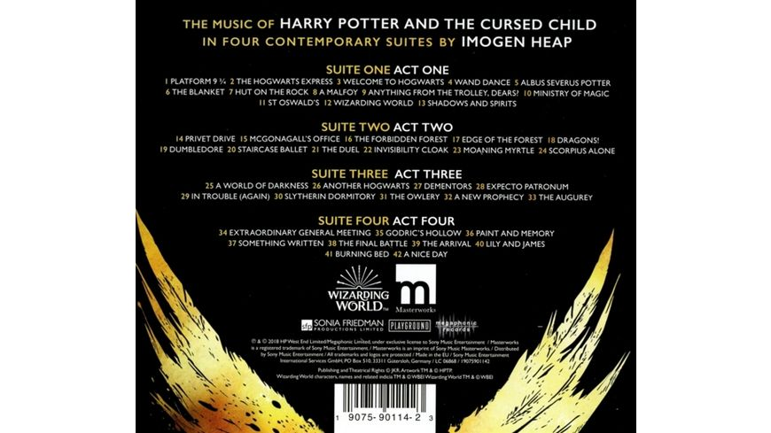The Music of Harry Potter and the Cursed Child I