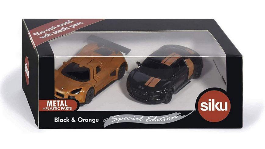 SIKU 6310 Super Geschenkset Black Orange