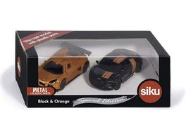 SIKU 6310 Super Geschenkset Black Orange