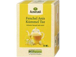 Alnatura Fenchel Anis Kuemmel Tee