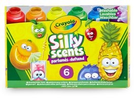 Crayola 6 Silly Scents Duftende Kinderfarben
