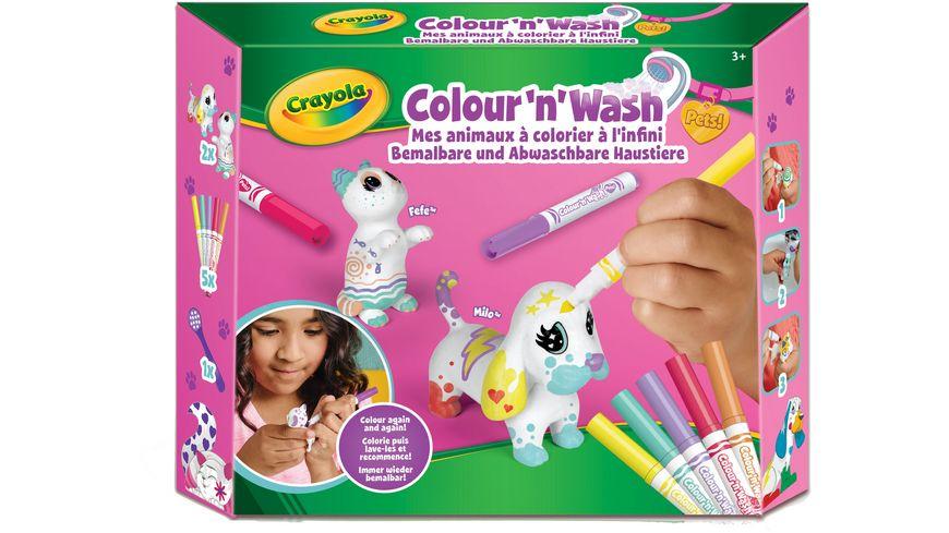 Crayola Colour n Wash Hund und Katze