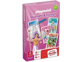 ASS Altenburger Playmobil Quartett Trumpf Prinzessinnen