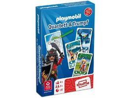 ASS Altenburger Playmobil Quartett Trumpf Drachen