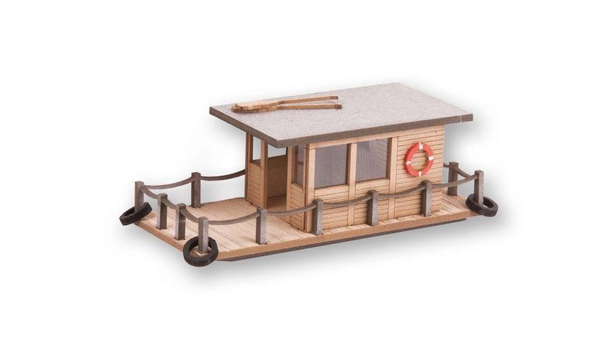 NOCH 14224 H0 Laser Cut mini Hausboot