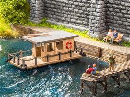 NOCH H0 14224 Laser Cut mini Hausboot