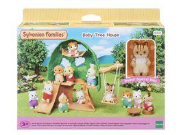 Sylvanian Families Baby Abenteuer Baumhaus