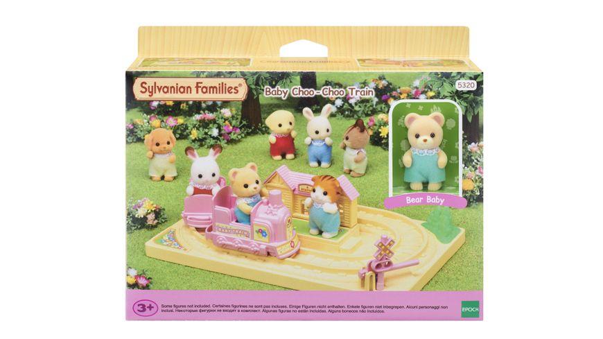 Sylvanian Families Baby Abenteuer Zug