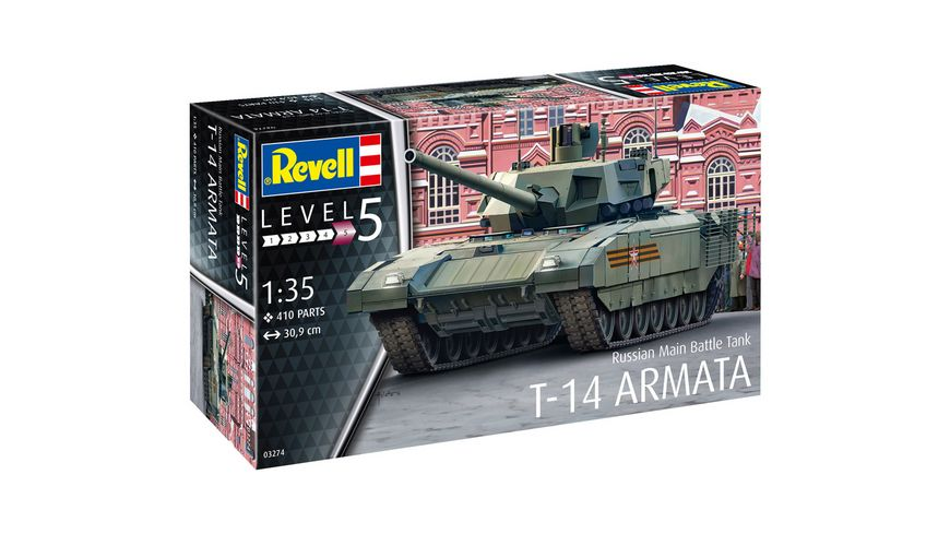 Revell 3274 Russian Main Battle Tank T 14 ARMATA