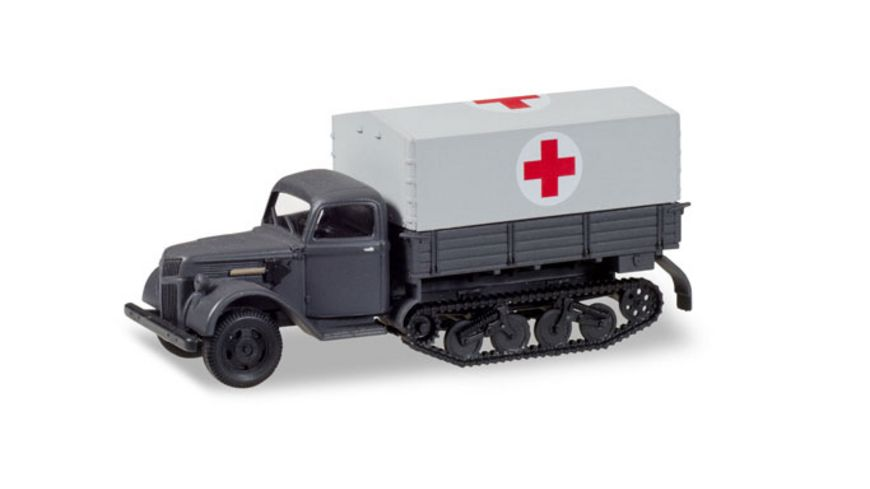 Herpa 746366 Ford 987 Maultier Sanitaets LKW