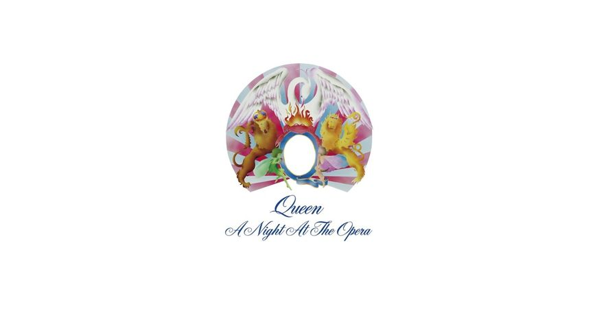 A Night At The Opera Limited Black Vinyl